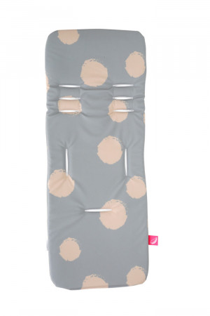 MOTHERHOOD vežimėlio įdėklas Pink Splashes 070/152 070/152