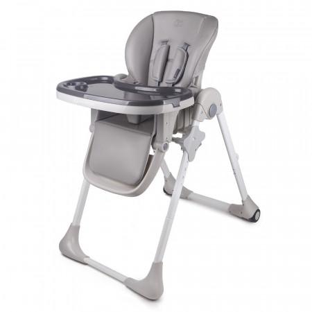KINDERKRAFT maitinimo kėdutė YUMMY grey KKKYUMMGRY0000
