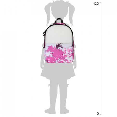 UPIXEL kamufliažinė kuprinė Pink, WY-A021 WY-A021