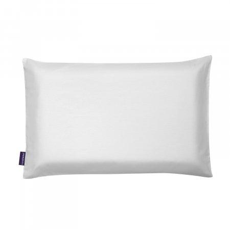 CLEVAMAMA ClevaFoam® kūdikių pagalvėlės užvalkalas White, 3310 3310