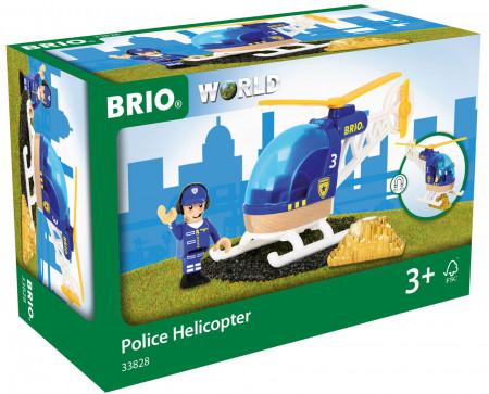 BRIO policijos sraigtasparnis, 33828 33828