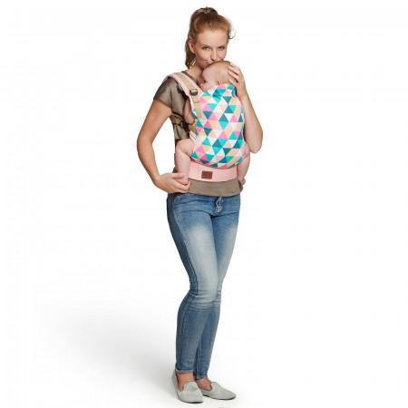 KINDERKRAFT nešioklė NINO, rožinė KKNNINOPINK000
