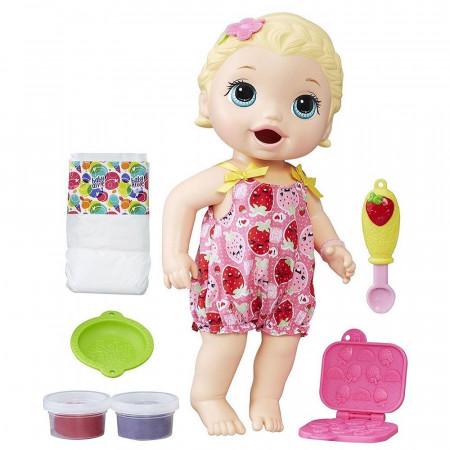 BABY ALIVE lėlytė Snacking Lily Blonde, C2697EU4 C2697EU4