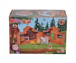 SIMBA MASHA AND THE BEAR mini žaidimo rinkinys, 109301039 109301039
