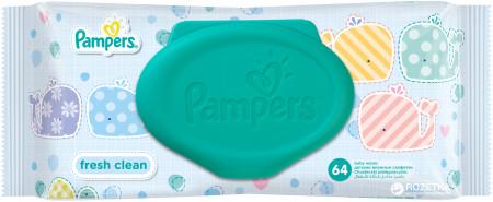 PAMPERS servetėlės Baby Fresh, 64 vnt. P05U913 P05U912
