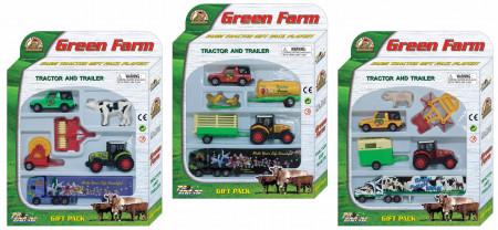 PIONEER rinkinys GREEN FARM, 3 asort., PT403 PT403