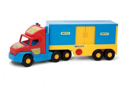 Wader sunkvežimis su priekaba - konteineriu 78x29x20cm, 36510 36510