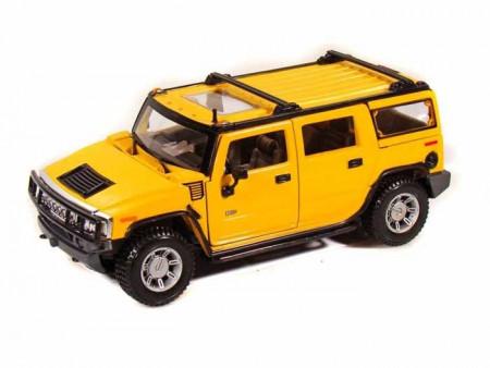 MAISTO DIE CAST automodelis 1:24 Hummer SUV 2003 MTH, 31231 31231