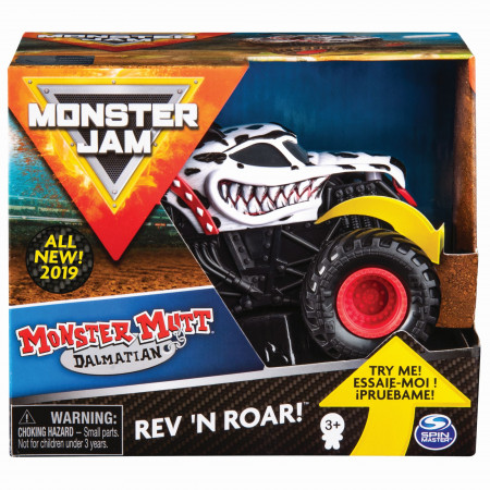 MONSTER JAM visureigis 1:43 Rev & Roar, asort., 6044990 6044990