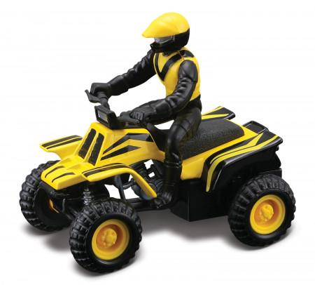 MAISTO  FM motociklas keturratis su fig, 15026 15026