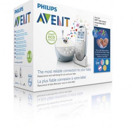 PHILIPS AVENT kūdikių stebėjimo prietaisas SCD580/00 1/758