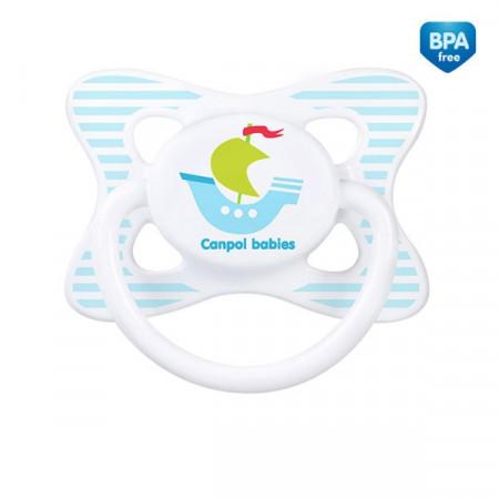 CANPOL BABIES lateksinis apvalus čiulptukas Summertime 6-18m 23/464 23/464