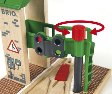 BRIO RAILWAY šviesoforo stotelė, 33674000 33674000