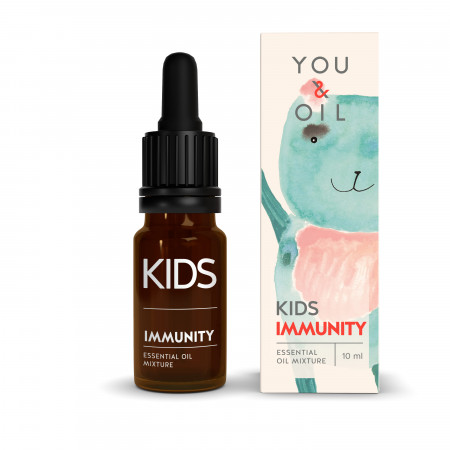 YOU & OIL KIDS eterinių aliejų mišinys Imunitetas 10 ml 5060520850634