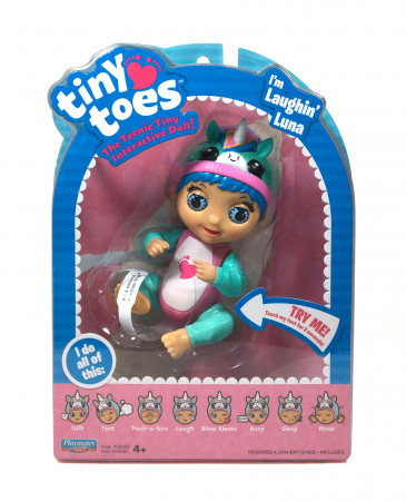TINY TOES interaktyvi lėlė Luna-Unicorn, 56083