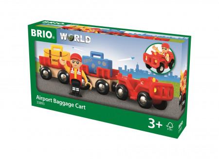 BRIO oro uosto bagažo traukinys, 33893 33893