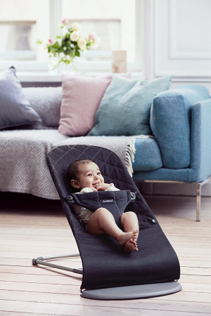 BABYBJÖRN gultukas BLISS Cotton, juodas, 006016 006016