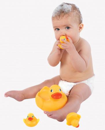 PLAYGRO žaislas voniai Ančiukų šeima, 0187479 0187479