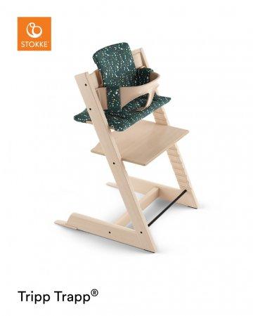STOKKE maitinimo kėdutės paminkštinimas Tripp Trapp Terazzo Petrol 100362 100362
