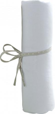 BABYCALIN paklodė, balta 60x120 cm, BBC413701 BBC413701