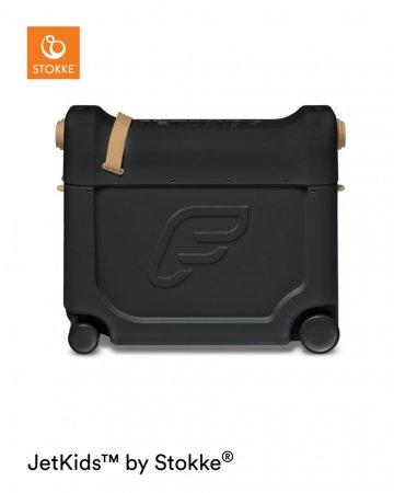 STOKKE transformuojamas lagaminas JETKIDS, juodas, 534505 534505