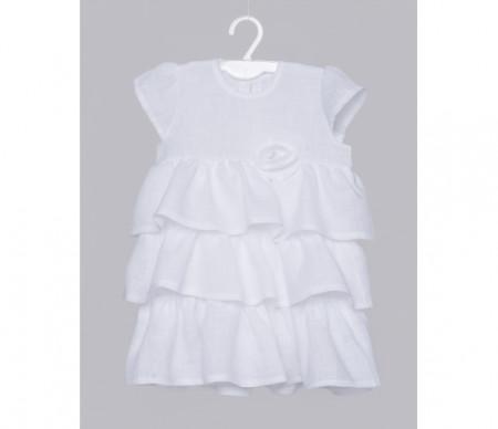 LORITA Krikšto suknelė balta, Lina 86cm 1284 1284