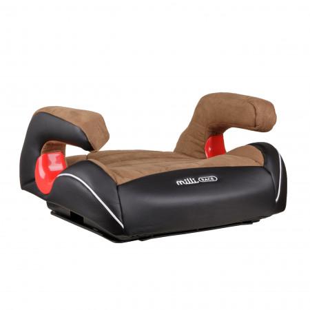 MILLI automobilinė kėdutė-busteris Race Black/brown 4752062142490