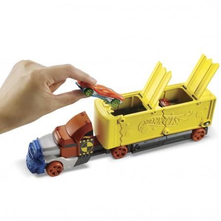 HOT WHEELS sunkvežimis su iššokančiais automodeliais, GCK39 GCK39