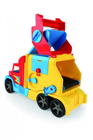 WADER sunkvežimis - šiukšliavežė, asort., 60x28x20cm, 36580 36580