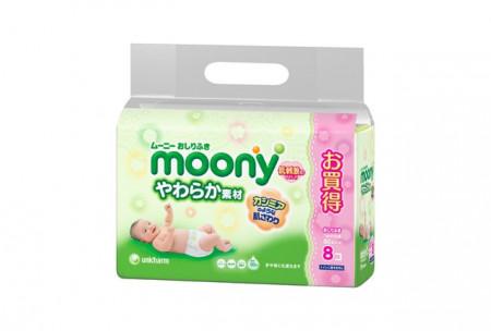 MOONY drėgnos servetėlės 80vnt Moony