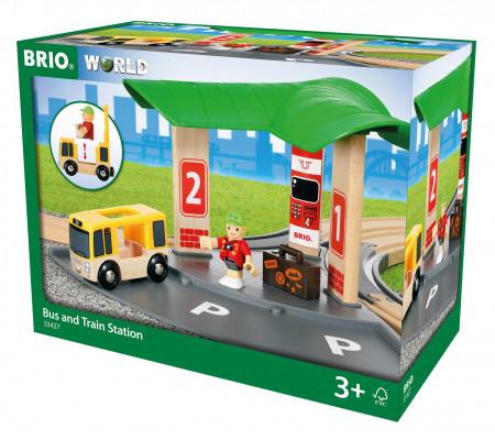 BRIO autobusų ir traukinių stotis, 33427 33427