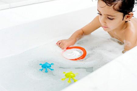BOON vonios žaislai 4 vnt. 9m+ Water Bugs B932
