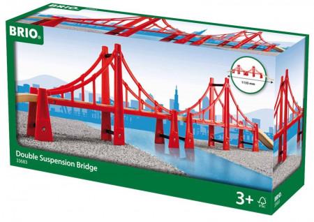 BRIO dvigubai sukabintas tiltas, 33683 33683