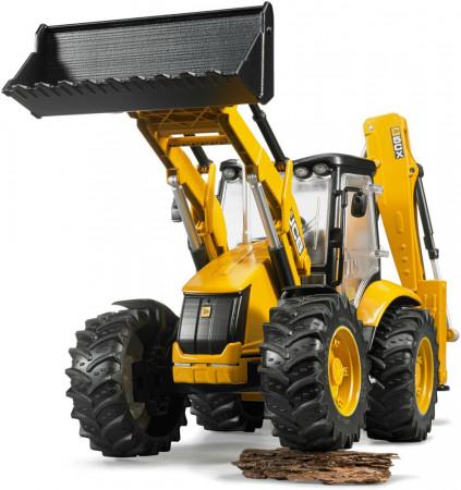 BRUDER traktorius su krautuvu JCB 5CX eco Backhoe, 02454 02454