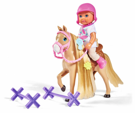 SIMBA EVI LOVE rinkinys su lėle ir žirgu, 105733274 105733274038