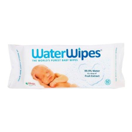 WATER WIPES drėgnos servetėlės 60vnt 4121 WaterWipes60