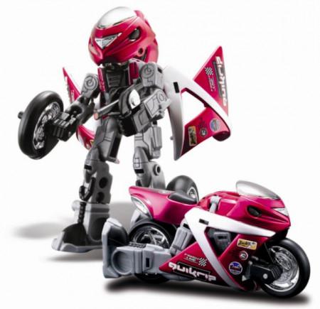 MAISTO DIE CAST motociklas- robotas pakabin., 35003 35003