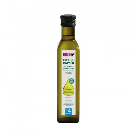 HiPP rapsų aliejus 4m+ 250ml 6065 6065
