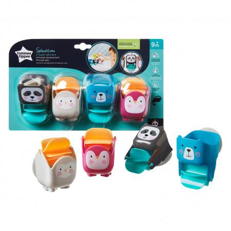 TOMMEE TIPPEE vonios žaislai Super Spinners, 491012 491012