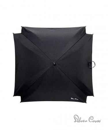 MOTHERCARE skėtis vežimėliui Silver Cross Black 561252