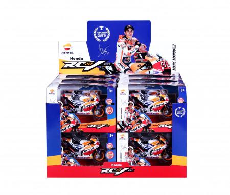 MAISTO TECH 1:18 motociklas GP Honda Repsol RC213V, 34592 34592