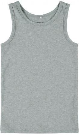 NAME IT Apatiniai marškinėliai 2 vnt Grey Melange 13163573 13163573