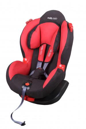 MILLI automobilinė kėdutė Safe Red/Black ES01-SB36-017T