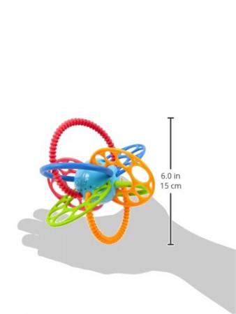 OBALL žaislas barškantis Flexiloops, 81526 81526-6-WW-YW2