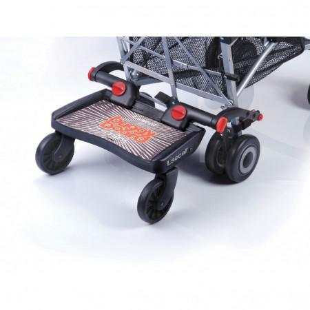 LASCAL laiptelis vežimėliui antram vaikui MINI, black T-LAS-02830