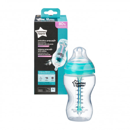 TOMMEE TIPPEE Anti-colic buteliukas 3+ 340ml 42257775 42257775
