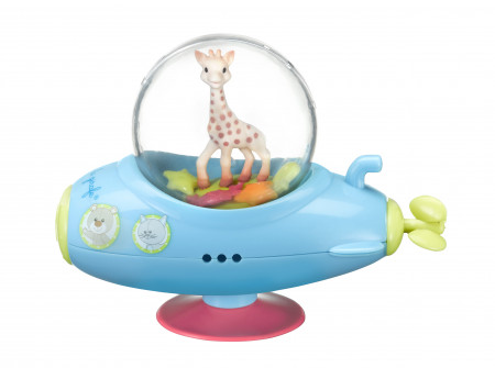VULLI Sophie la girafe vonios žaislas 10m+ Sophie's Submarine 523427 523427