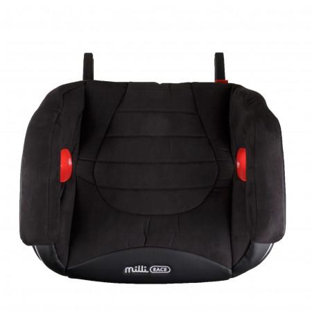 MILLI automobilinė kėdutė-busteris Race isofix Black 4752062142476