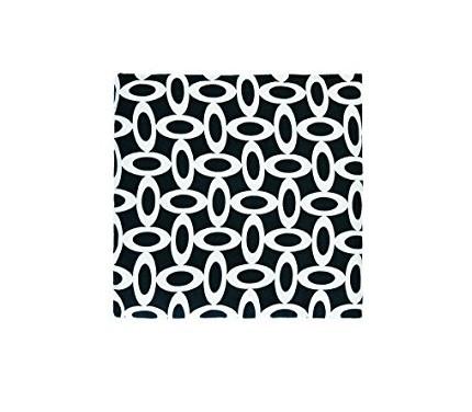 FASHY šildyklė su vyšnių kauliukais 19x20cm Black/White 6333 6333