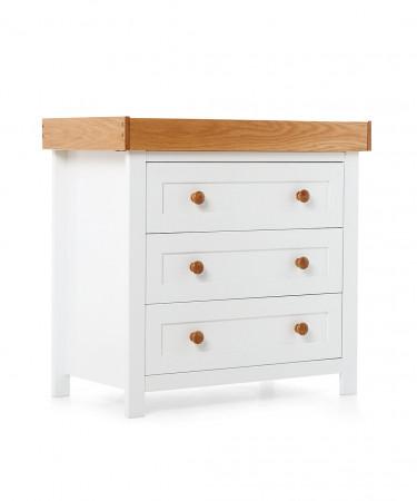 MOTHERCARE vystymo stalas - komoda Lulworth Classic Solid Wood 796131 GA699